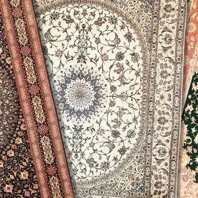 Alfombras orientales madrid great alfombra oriental roja for Alfombra persa roja